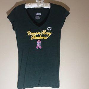 NFL Green Bay Packers V-Neck T-Shirt